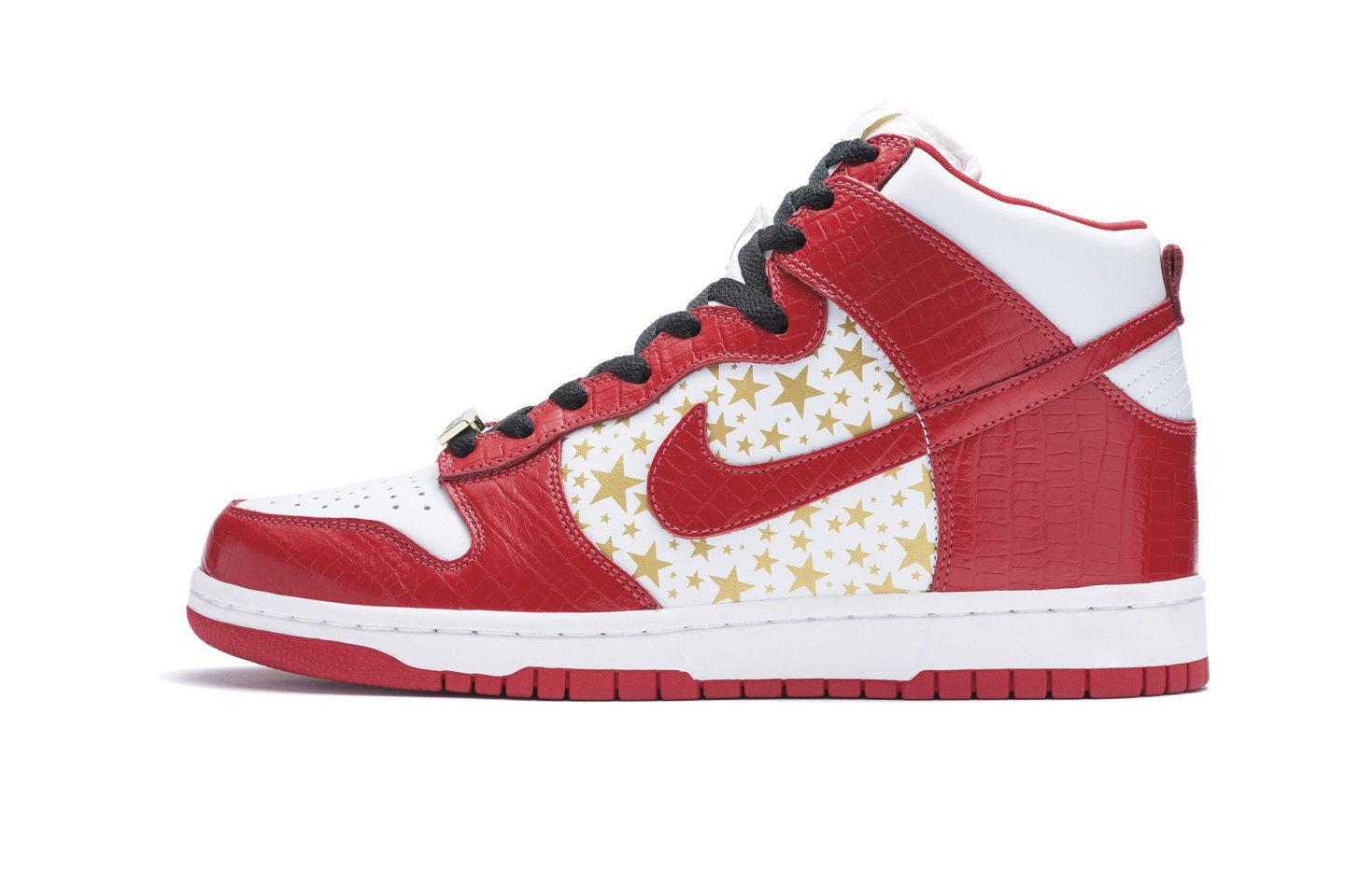 Nike SB Supreme Gold Star Dunk Highs Red 2003